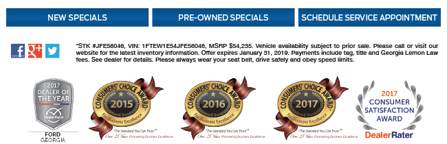 2018 Model Year End Clearance Gwinnett Place Ford